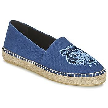 Schoenen Dames Espadrilles Kenzo TIGER HEAD Blauw