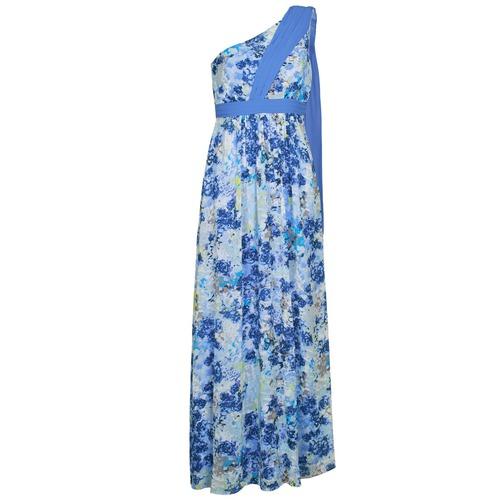 Textiel Dames Lange jurken Manoukian 613356 Blauw
