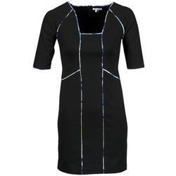 Textiel Dames Korte jurken Manoukian 613369 Zwart