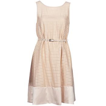 Textiel Dames Korte jurken Manoukian 613374 Beige