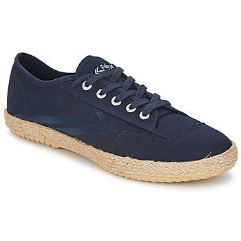 Schoenen Lage sneakers Feiyue FELO PLAIN Blauw / Wit