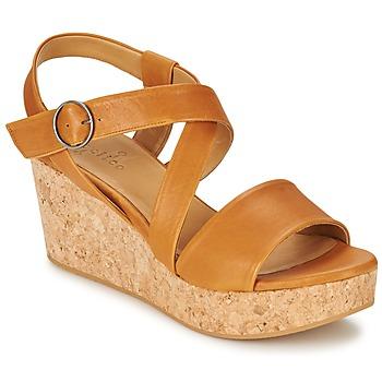 Schoenen Dames Sandalen / Open schoenen Coclico MEL Camel