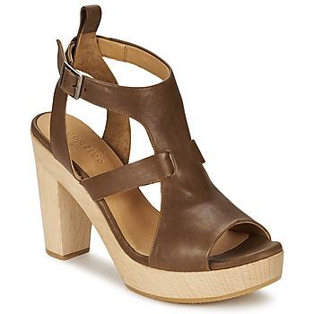 Schoenen Dames Sandalen / Open schoenen Coclico SHAE Bruin