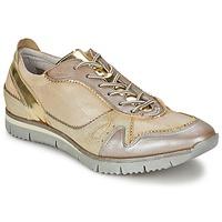 Schoenen Dames Lage sneakers Manas  Goud