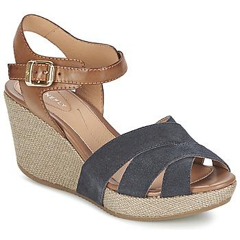 Schoenen Dames Sandalen / Open schoenen Stonefly MARLENE Marine / Bruin