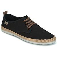 Schoenen Heren Lage sneakers Victoria BLUCHER LINO DETALLE SERRAJE Zwart