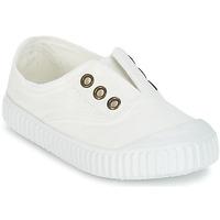 Schoenen Kinderen Lage sneakers Victoria INGLESA LONA TINTADA Wit