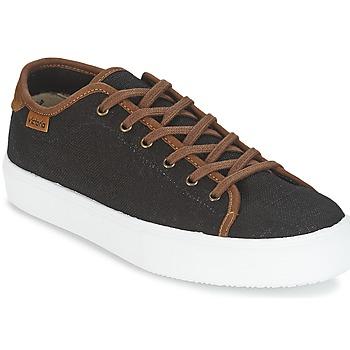 Schoenen Heren Lage sneakers Victoria BASKET LINO DETALLE MARRON Zwart / Bruin