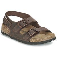 Schoenen Kinderen Sandalen / Open schoenen Betula Original Betula Fussbett FUNK Bruin