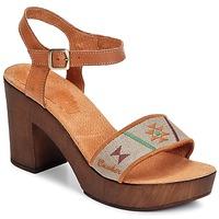 Schoenen Dames Sandalen / Open schoenen Bunker LUCY Bruin / Taupe