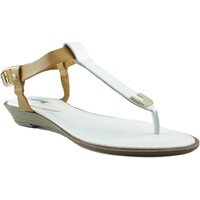 Schoenen Dames Sandalen / Open schoenen MTNG MUSTANG VACHE CUÑA BLANCO