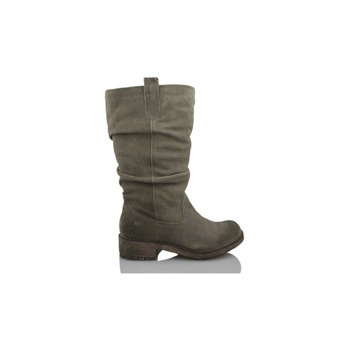Schoenen Dames Laarzen MTNG MUSTANG COW BJ SERRAJE GRIS