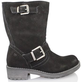 Schoenen Dames Laarzen MTNG MUSTANG SEÑORA BJ NEGRO