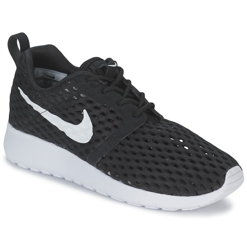 Schoenen Jongens Lage sneakers Nike ROSHE ONE FLIGHT WEIGHT BREATHE JUNIOR Zwart