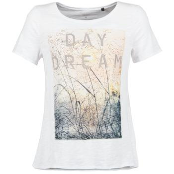 Textiel Dames T-shirts korte mouwen Marc O'Polo MOFRAGO Wit