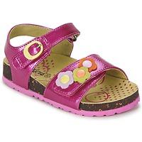 Schoenen Meisjes Sandalen / Open schoenen Kickers MAGIFLOWER Fushia