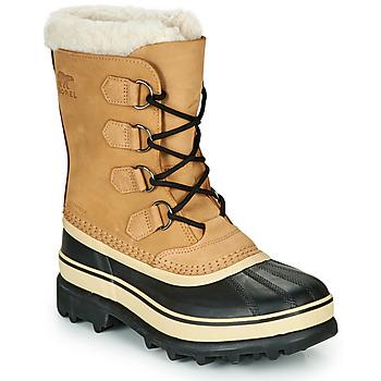 Schoenen Dames Snowboots Sorel CARIBOU Bruin / Zwart