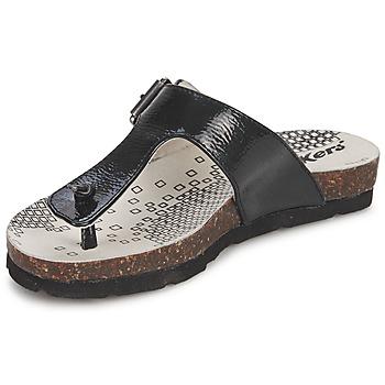 Schoenen Meisjes Teenslippers Kickers DITIK Zwart