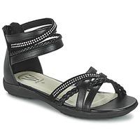 Schoenen Meisjes Sandalen / Open schoenen Wildflower GRIMSTAD Zwart
