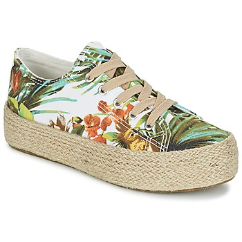 Schoenen Dames Lage sneakers Wildflower EGINA Groen / Tropical