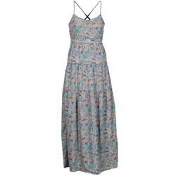 Textiel Dames Lange jurken Vero Moda PAISILLA MACE Beige / Blauw