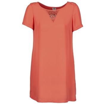 Textiel Dames Korte jurken Vero Moda TRIPPA Koraal