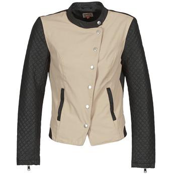 Textiel Dames Wind jackets Only LICENS Beige / Zwart