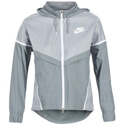 Textiel Dames Windjack Nike TECH WINDRUNNER Grijs