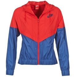 Textiel Dames Windjack Nike WINDRUNNER Marine / Rood