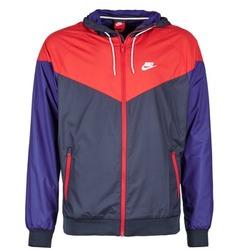 Textiel Heren Windjack Nike WINDRUNNER Marine / Rood / Blauw
