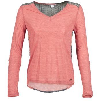 Textiel Dames T-shirts met lange mouwen Smash TIRAMISU Roze