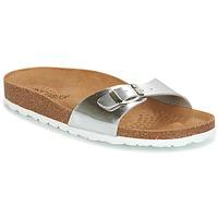 Schoenen Dames Leren slippers Casual Attitude TERTROBAL Zilver