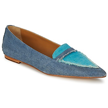 Schoenen Dames Mocassins Castaner KATY Blauw / Jeans