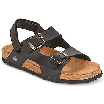 Schoenen Jongens Sandalen / Open schoenen Citrouille et Compagnie BALDODE Zwart / Matt