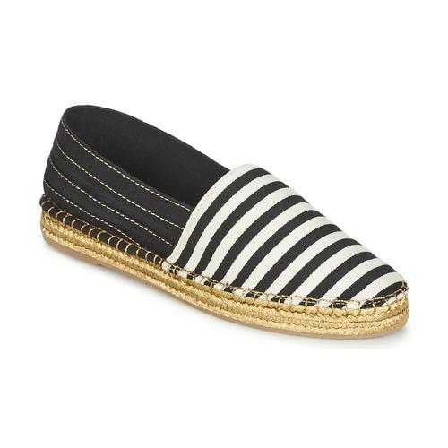 Schoenen Dames Espadrilles Marc Jacobs SIENNA Zwart / Wit