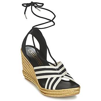 Schoenen Dames Sandalen / Open schoenen Marc Jacobs DANI Zwart / Wit