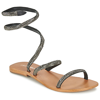 Schoenen Dames Sandalen / Open schoenen Café Noir CAMPIBALO Grijs