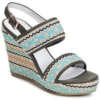 Schoenen Dames Sandalen / Open schoenen Café Noir JABALA Carbon / Turquoize
