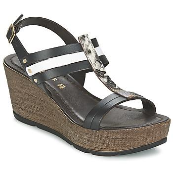 Schoenen Dames Sandalen / Open schoenen Café Noir LAPIBO Zwart