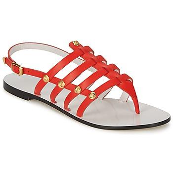Schoenen Dames Sandalen / Open schoenen Versace DSL944C Koraal