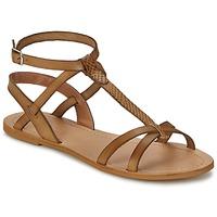 Schoenen Dames Sandalen / Open schoenen So Size BEALO Bruin