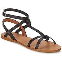 Schoenen Dames Sandalen / Open schoenen So Size BEALO Zwart