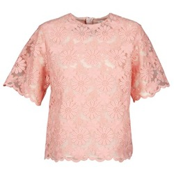 Textiel Dames Tops / Blousjes Manoush AFRICAN BLOUSE Koraal