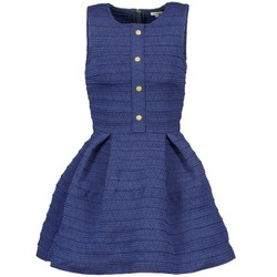 Textiel Dames Korte jurken Manoush ELASTIC Blauw