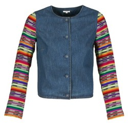 Textiel Dames Jasjes / Blazers Manoush INDIAN DENIM Blauw