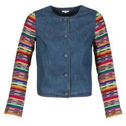 Textiel Dames Jasjes / Blazers Manoush INDIAN DENIM Blauw