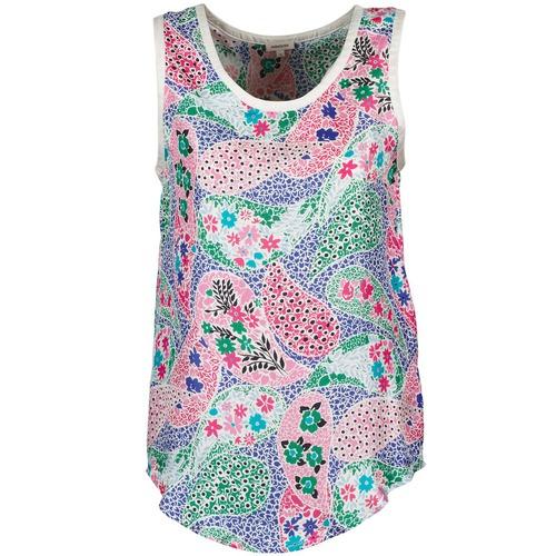 Textiel Dames Mouwloze tops Manoush PAISLEY RETRO Multicolour