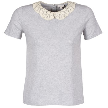 Textiel Dames T-shirts korte mouwen Manoush T-SHIRT Grijs