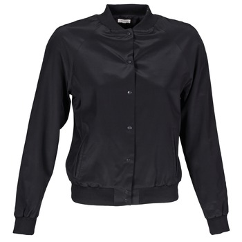 Textiel Dames Wind jackets Manoush TEDDY FLEUR SIATIQUE Zwart