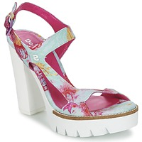 Schoenen Dames Sandalen / Open schoenen Desigual VENICE Turquoize / Roze